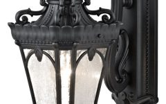 Sheard Textured Black 2 – Bulb Wall Lanterns