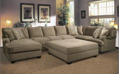 Sofas with Large Ottoman
