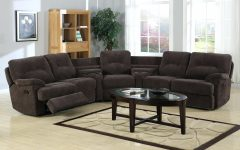 Curved Sectional Sofas With Recliner