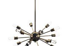 Defreitas 18-light Sputnik Chandeliers
