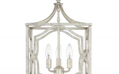 Destrey 3-light Lantern Square/rectangle Pendants