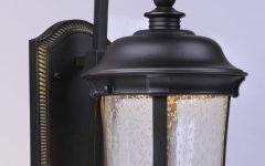 Edinburg Black Outdoor Wall Lanterns