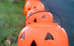 Outdoor Pumpkin Lanterns