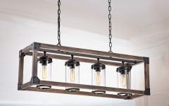 Ellenton 4-Light Rectangle Chandeliers