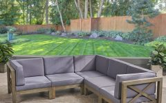 Ellison Patio Sectionals With Cushions