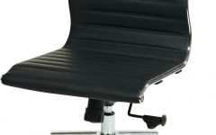 Executive Desk Chair Without Arms