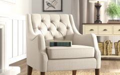 Galesville Tufted Polyester Wingback Chairs