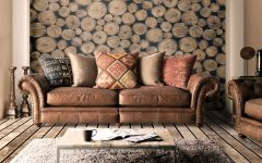 Leather And Cloth Sofas