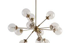 Asher 12-light Sputnik Chandeliers