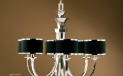 Chandeliers With Black Shades