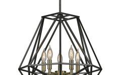 Tabit 5-light Geometric Chandeliers