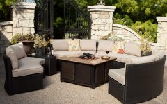 Patio Conversation Sets with Propane Fire Pit