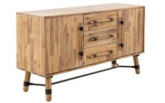 Corrugated Natural 4-drawer Sideboards