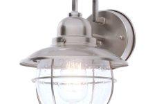 Nickel Outdoor Lanterns