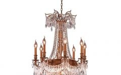 French Gold Chandelier