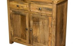 "Aneisa 70"" Wide 6 Drawer Mango Wood Sideboards"