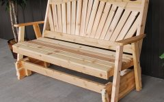 Fanback Glider Benches