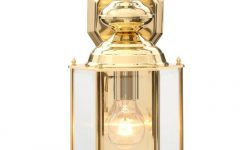 Gold Outdoor Lanterns