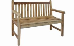 Hampstead Teak Garden Benches