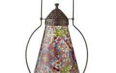 Outdoor Mosaic Lanterns