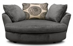 Round Sofa Chair Living Room Furniture