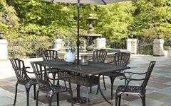 Patio Table Sets With Umbrellas