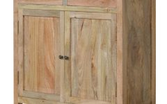 Mango Wood 2-Door/2-Drawer Sideboards