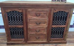 4-door/4-drawer Cast Jali Sideboards