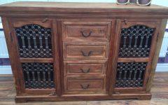 4-door/4-drawer Cast Jali Sideboards