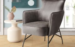Jill Faux Leather Armchairs