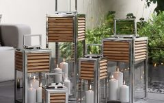 Outdoor Teak Lanterns