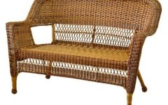 Karan Wicker Patio Loveseats