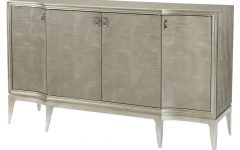 Metal Refinement 4 Door Sideboards