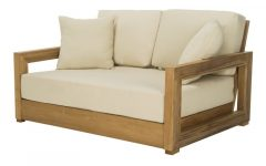 Lakeland Teak Loveseats With Cushions