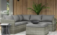 Lorentzen Patio Sectionals with Cushions