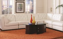 Leather Modular Sectional Sofas