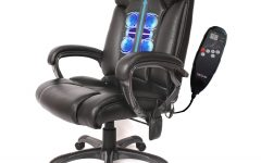 Executive Office Chairs With Shiatsu Massager