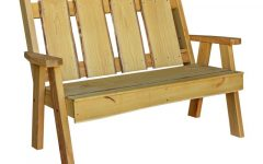 Lucille Timberland Wooden Garden Benches