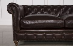 Mansfield Cocoa Leather Sofa Chairs