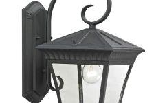 Mccay Matte Black Outdoor Wall Lanterns