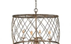 Metal Drum Chandeliers