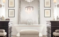 Bathroom Lighting With Matching Chandeliers