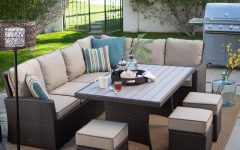 Patio Conversation Sets with Dining Table
