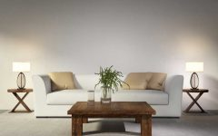 Brown Living Room Table Lamps