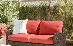 Mosca Patio Loveseats with Cushions