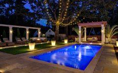 Outdoor Pool Lanterns