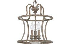 Armande 3-Light Lantern Geometric Pendants