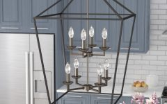 Carmen 8-Light Lantern Tiered Pendants