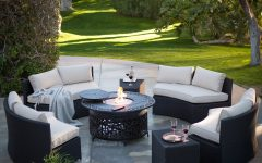 Patio Conversation Sets With Fire Table