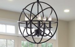 Verlene Foyer 5-light Globe Chandeliers